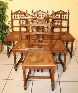 Gepolsterte Stühle Mit Lehne : 6 elegante st hle mit krone auf der lehne um 1880 in nussbaum ~ Bigdaddyawards.com Haus und Dekorationen