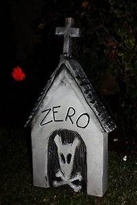 Zero39s dog house nightmare before christmas pinterest for Zero dog house
