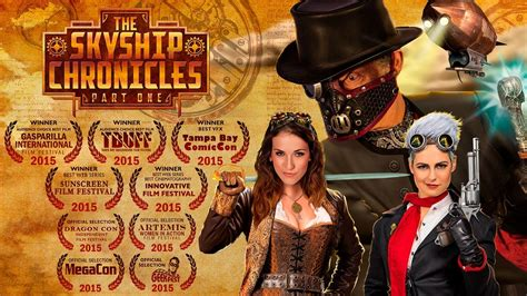 The Skyship Chronicles - Official Steampunk Movie Trailer ...
