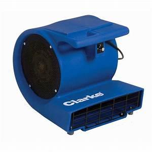 Clarke direct air 3 commercial grade 3 speed blower carpet for Floor drying fan rental