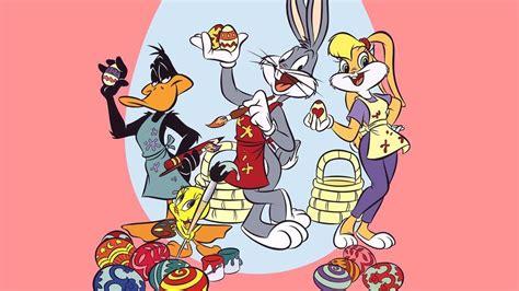 coloring easter eggs bugs bunny  lola bunny cartoon