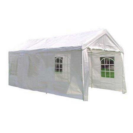 heavy duty white party tent gazebo  sidewalls  walmartcom