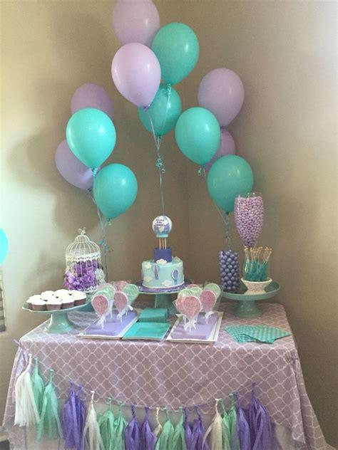 mint  lavender baby shower baby shower ideas