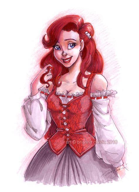 ariel cutie redhead naked photo