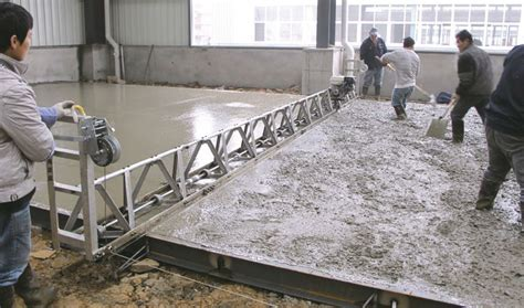 Concrete Vibratory Truss Screed Cts200 With Strong