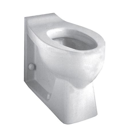 Floor Mount Rear Flush Toilet by American Standard Huron Everclean Back Spud Flushometer 1