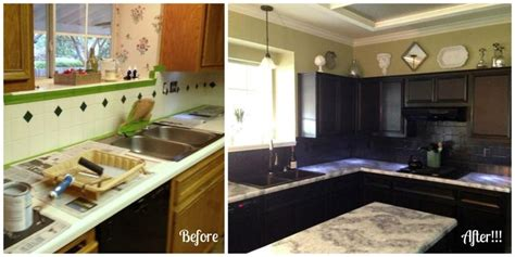 nuvo cabinet paint before and after dramatic before and after using the giani white diamond 158
