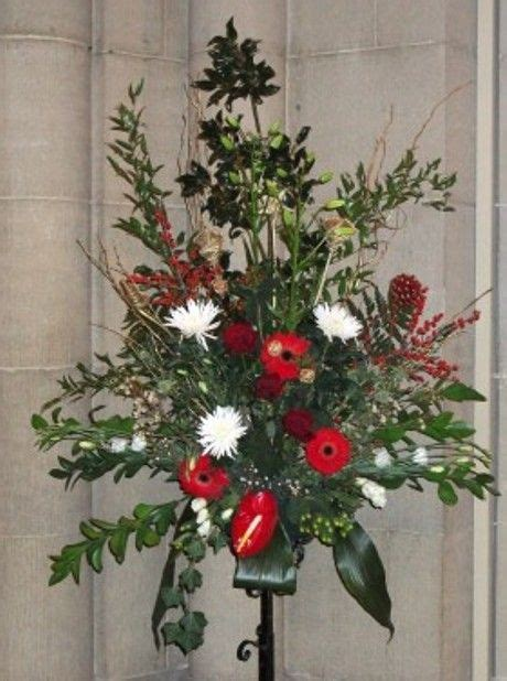 21 best images about christmas church flowers on pinterest