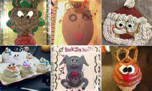 funniest christmas cake fails   time revealed
