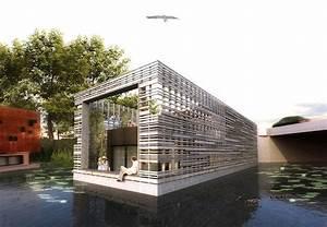 Wohnen Auf Dem Hausboot : hausboote hausboote hamburg schwimmh user und wohnen auf dem wasser typ a architektur ~ Markanthonyermac.com Haus und Dekorationen
