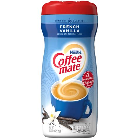 Nestle coffee mate french vanilla coffee creamer is the perfect way to create a delicious cup of vanilla perfection. French Vanilla Coffee Creamer   Powdered   Coffee-mate®