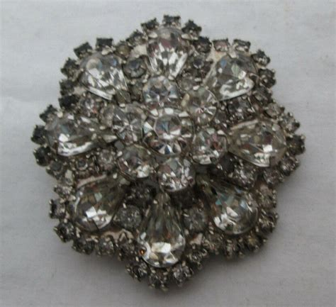 vintage weiss signed costume jewelry brooch pin   ebay