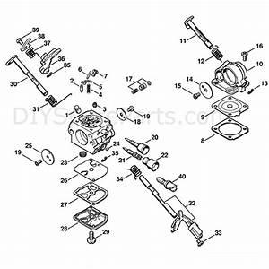 Stihl Ms 211 Chainsaw  Ms211z  Parts Diagram  Carburetor