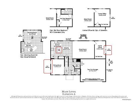 ryan home floor plans