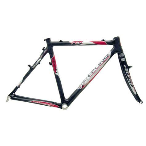 cadre cyclo cross carbone felino leopardo cadre