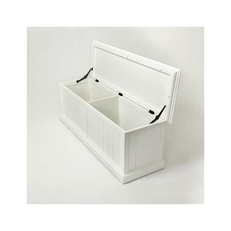 banc coffre de rangement blanc banc coffre de rangement en bois blanc royan