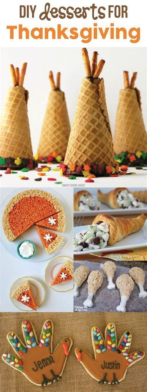 50 cute thanksgiving treats for kids 18. Looking for cute, fun, and easy Thanksgiving desserts? You ...
