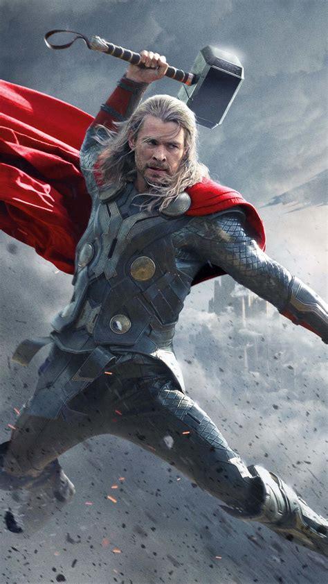 Thor Superhero Chris Hemsworth 4K Ultra HD Mobile ...