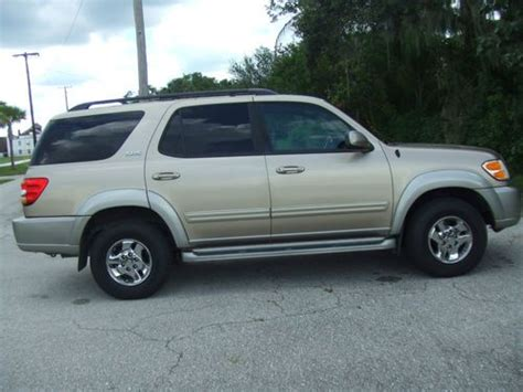 how cars engines work 2002 toyota sequoia navigation system buy used 2002 toyota sequoia sr5 4x4 leather loaded everything works cold ac florida car in