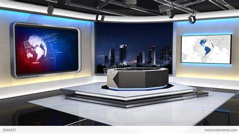 News Studio 99 C 1 HD Stock Animation