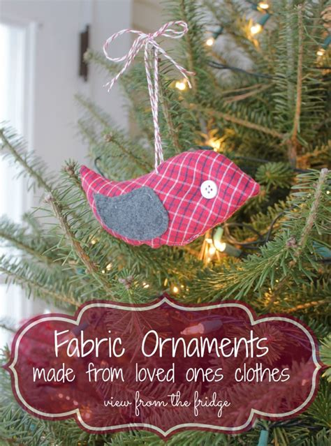 hometalk fabric ornaments   loved  clothing