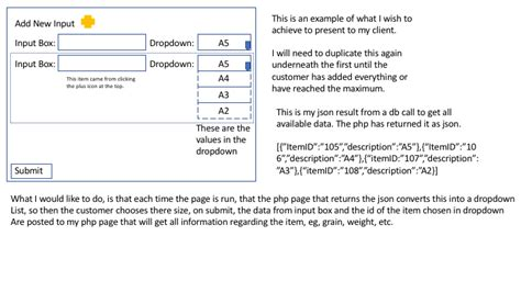 javascript html form with dropdowns submit form on