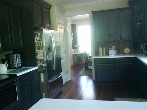 kitchen cabinets  sherwin williams iron ore sw