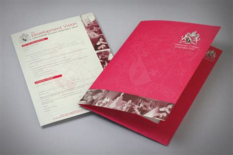 andrew burdett design school brochure design  print company