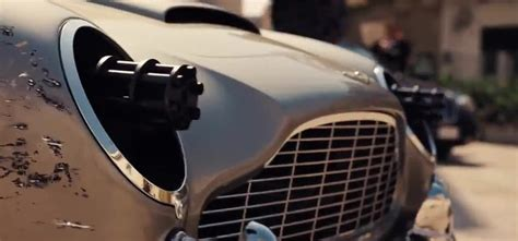 No Time to Die First Teaser: DB5 with Gatling Guns for ...