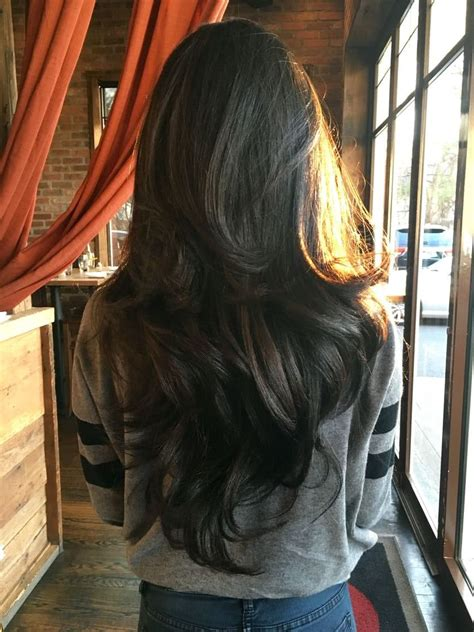 LONG LAYERED HAIRSTYLES 2019 These types of layers are