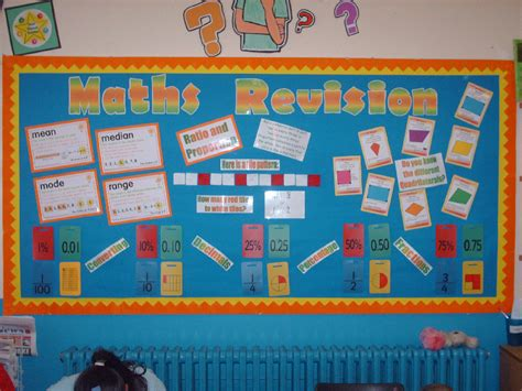 Maths Revision Classroom Display Photo  Photo Gallery Sparklebox