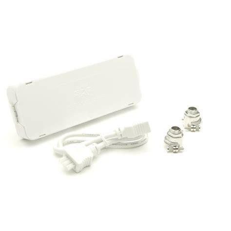 under cabinet lighting junction box american lighting 42481 white direct wire junction box