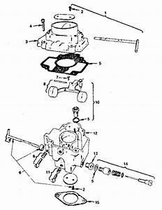 Carburetor Diagram  U0026 Parts List For Model B48gga0203858c