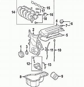 Toyota Corolla Enginepartment Diagram