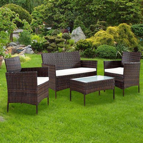 mobili da giardino offerta offerte arredo giardino rattan