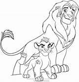 Lion Guard Coloring Pages Simba Kion Fuli Drawing Colouring Pride Disney Printable Da Sheet Bunga Roar Coast Baby Getcolorings Sketch sketch template