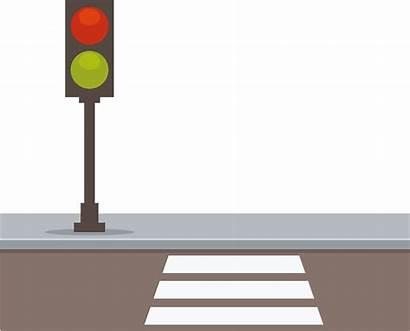 Crosswalk Clipart Creazilla Transparent Roads Traffic