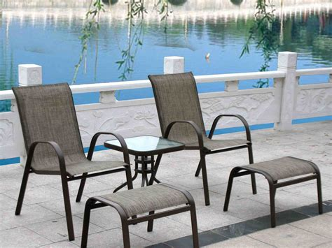 patio furniture with 2 ottomans china patio furniture