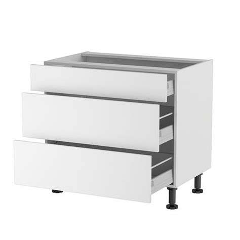 meuble cuisine 90 cm meuble cuisine bas 90cm 1 tiroir 2 casseroliers achat