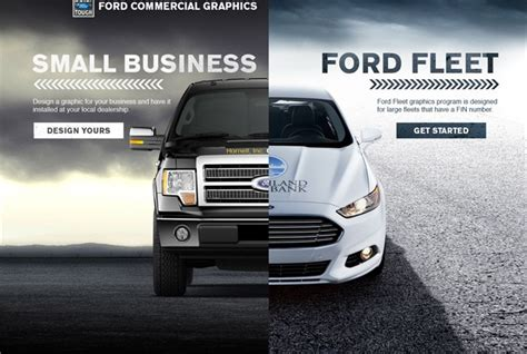 Ford's Commercial Graphics Site Offers Design Tool, 3m
