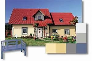 Welche Farbe Hat Das Weiße Haus : fassadengestaltung ~ Lizthompson.info Haus und Dekorationen