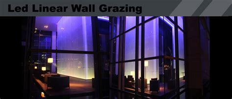led linear wall grazing lights