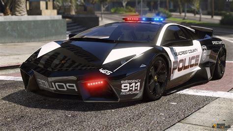 Lamborghini Reventón Hot Pursuit Police Autovista 5.0 For