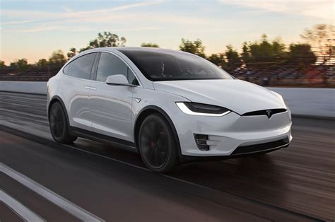 2016 Tesla Model X P90d Ludicrous First Test Review