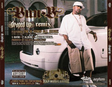 Bun B Draped Up by Bun B Draped Up Remix Promo Single Cd Rap Guide