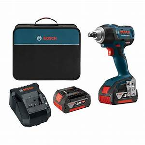 Bosch 18 V : bosch 18 volt lithium ion cordless ec brushless 1 2 in square drive impact wrench kit iwmh182 ~ Frokenaadalensverden.com Haus und Dekorationen