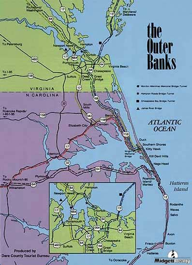 map  topsail outer banks pictures  pin  pinterest