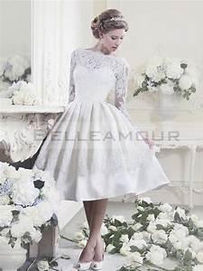 Robe De Mariée Moderne : robe de mari e vintage blanche courte moderne dentelle ~ Melissatoandfro.com Idées de Décoration