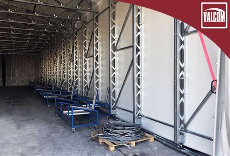 capannone in pvc un capannone in pvc valcom lia i magazzini fabris srl a