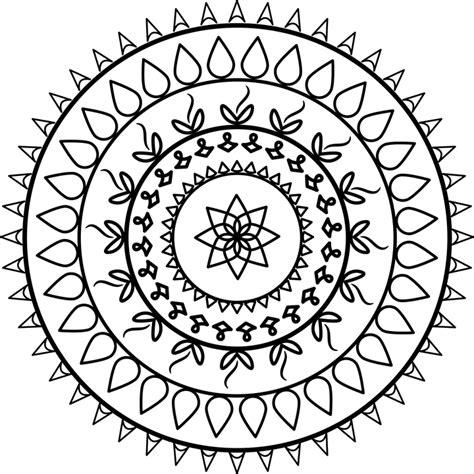 mandala tatouage spirituel images vectorielles gratuites